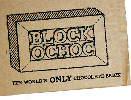 Block O'Choc - The World's Only Chocolate Brick